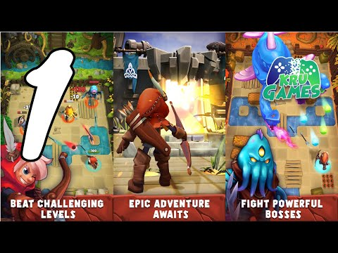 Combat Quest - Archer Action RPG Gameplay Walkthrough #1 (Android, IOS)