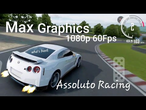 Assoluto Racing Gameplay (Max Graphics) Android/IOS (1080p 60fps)
