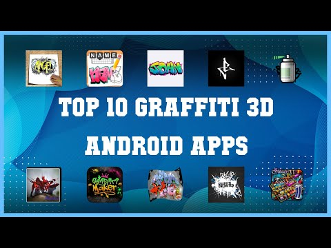 Top 10 Graffiti 3D Android App | Review