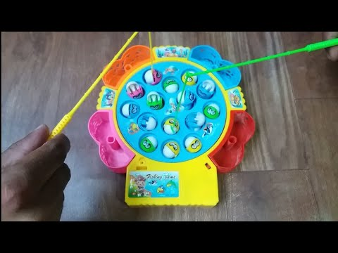 Kids fishing puzzle game demonstration 2019