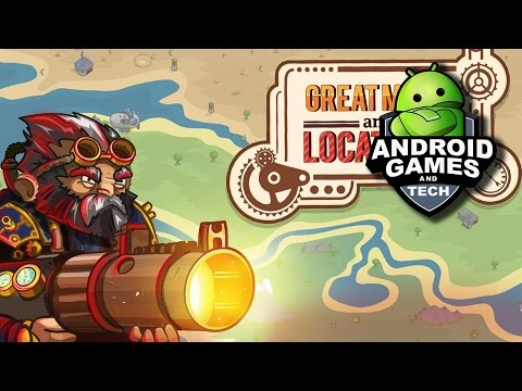 Steampunk Defense Android Game