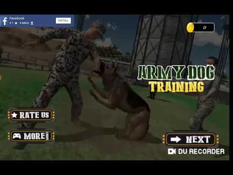 video review of Army Dog Training Simulator - Border Crime 2020