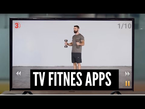 Exercise indoors with these TV fitness apps
