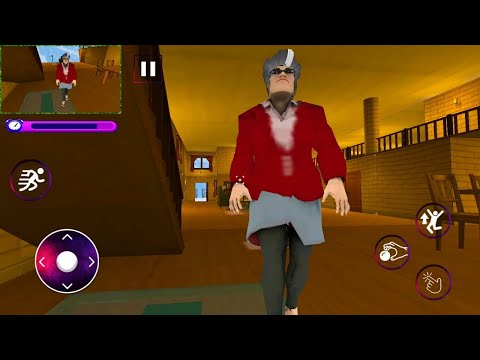 Scary Evil Teacher 3D Game Creepy Spooky Game 2020 Levels 1 to 4 - Gameplay Walkthrough 2020 FHD