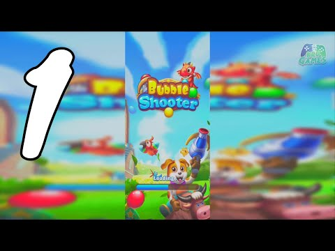 Bubble Shooter - Super Harvest, legend puzzle game Gameplay Walkthrough #1 (Android, IOS)