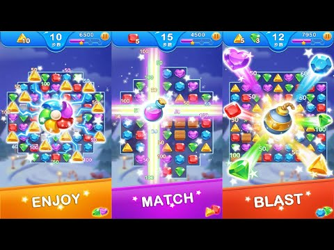 Jewel Blast Dragon - Match 3 Puzzle Android Gameplay