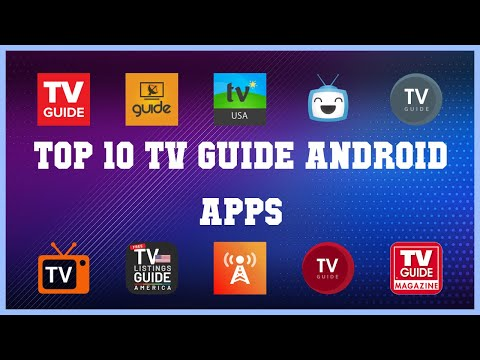 Top 10 TV Guide Android App | Review