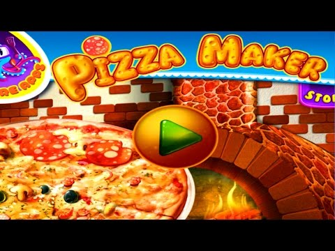 Pizza Maker Game - Learn How to Make Your Own Pizza for Children