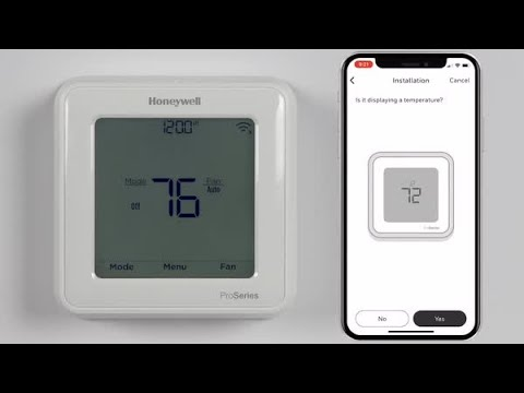 How to set up your Honeywell Home T5 or T6 Pro Smart Thermostat