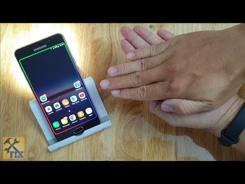 Clap to turn on Flashlight on Android