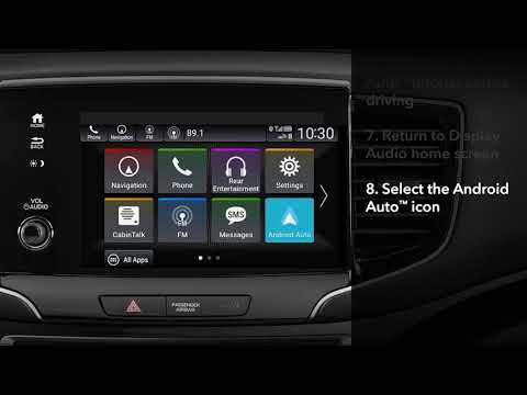 Honda Pilot: How to Connect and Use Android Auto™