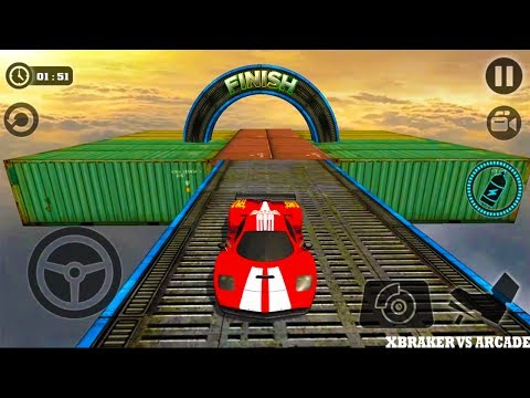 Impossible Stunt Car Tracks 3D Android GamePlay Full HD