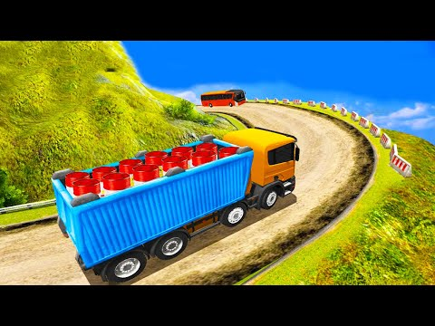 Indian Truck Spooky Stunt : Cargo Truck Driver   Android Gameplay