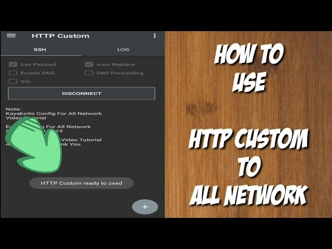HTTP Custom How To Use - Good For All Network Promo    Tutorial