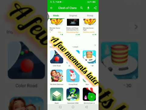 How to hack clash of clans and any app or game