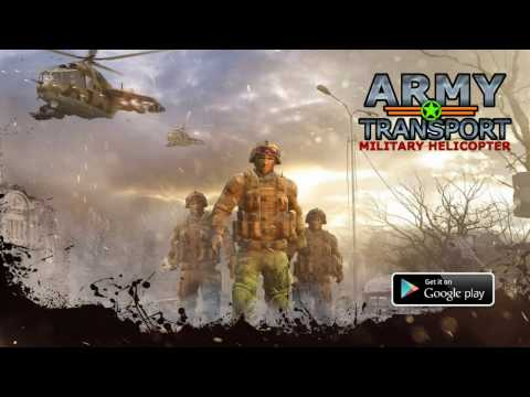 video review of Real Army Helicopter Simulator Transport Games