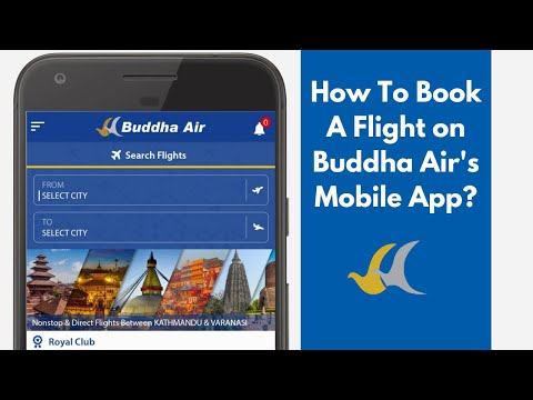 How To Book A Flight on Buddha Air's Mobile App?