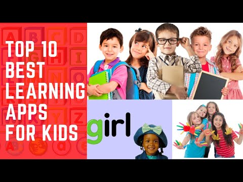 Top 10 best learning apps for kids   Android and iOS   2020 - 2021   Free and Paid