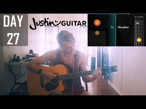 How I sound after another thirty days of learning guitar (using Justin Guitar)