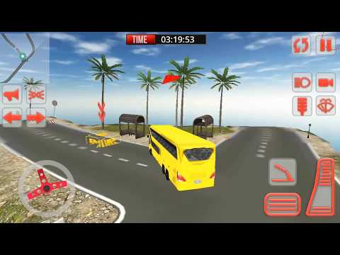 Mountain Bus Simulator 3D Android Gameplay Part 1 HD Video -Mountain Bus