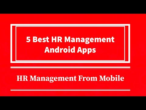 Top Best Human Resource(HR)Management Android App on Google Play Store&App store, Manage Everything