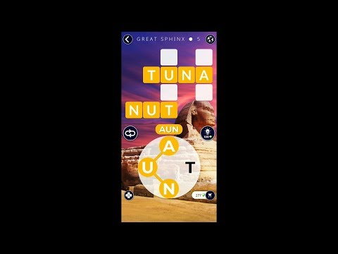 Words of Wonders (by Fugo Games) - words puzzle game for Android and iOS - gameplay.