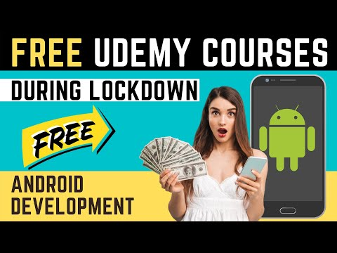Free Udemy Courses during Lockdown - Android App Development