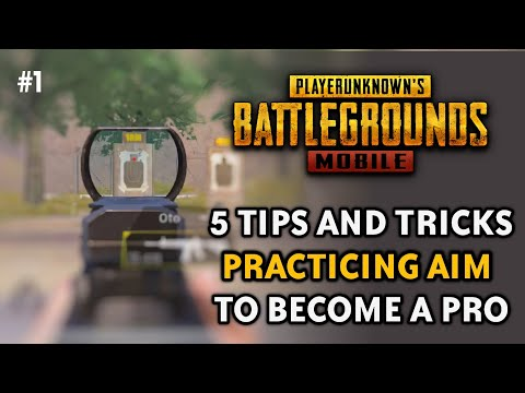 5 Tips For Practicing Aim in PUBG Mobile  | Train To Become a Pro #1