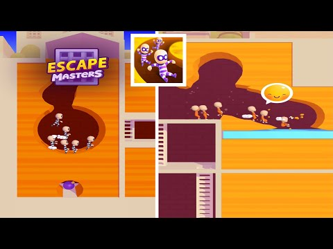 Escape Masters - Gameplay Walkthrough (iOS, Android)