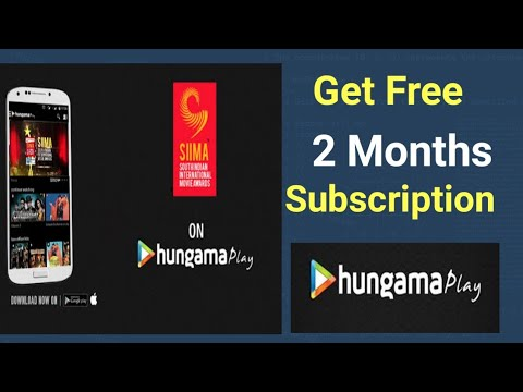 How to get Hungama play 2 months Free Subscription || How to use Hungama Play App ||
