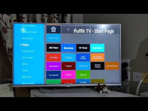 Android TV Web Browser - Puffin TV internet browser for Smart TVs | Sony Bravia TV browser download