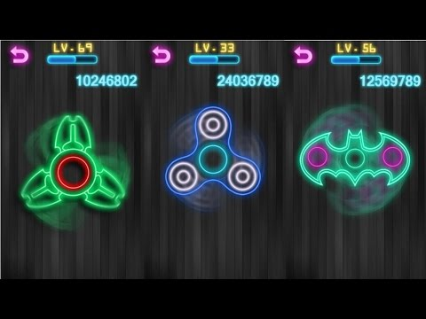 Fidget Spinner Android Gameplay