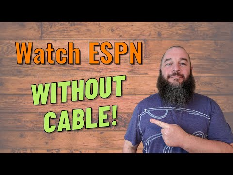 How to Watch ESPN Without Cable - Get Sports Without A Contract! 🏈 🏀