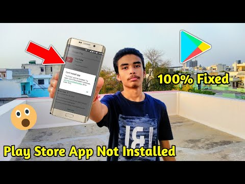 How To Fix Play Store Can't Install App Error | Play Store Error Fixed | Fix PlayStore Error Android