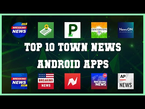 Top 10 Town News Android App | Review