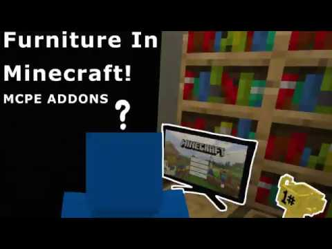 Furniture For Minecraft! - MCPE ADDONS