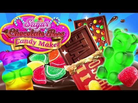 video review of Sweet Rainbow Candy Cooking & Chocolate Candy Bars