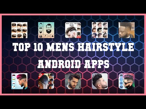 Top 10 Mens Hairstyle Android App   Review
