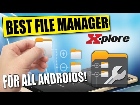 HOW TO USE X PLORE FILE MANAGER ON ANDROID & AMAZON FIRESTICK DEVICES