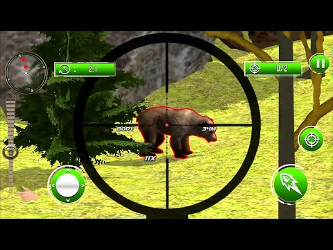 Wild Animal Hunt 2020: Dino Hunting Games Android Gameplay