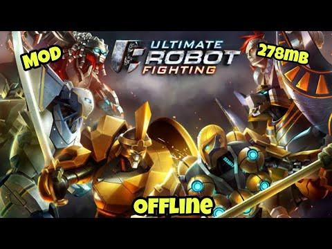 ULTIMATE ROBOT FIGHTING MOD | FULL TUTORIAL | ANDROID
