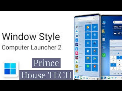 Computer Launcher 2 For Android Win 10 Theme || Turn Your Phone Into Windows 10 Desktop View