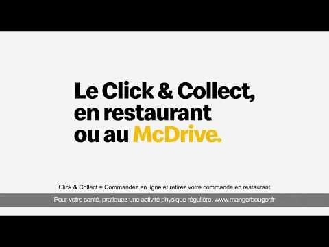 Mc Donald's Click and collect