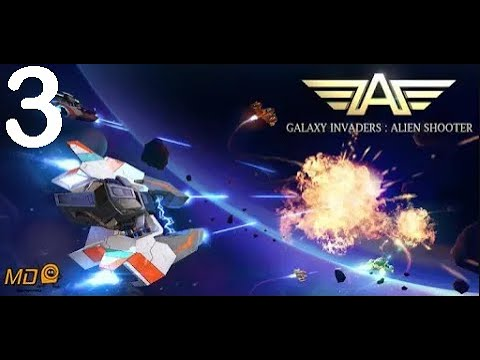 Galaxy Invaders: Alien Shooter - Gameplay IOS & Android-Part 3