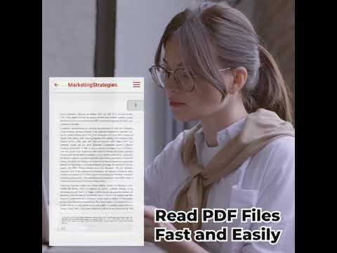 [HOT APPS] Best PDF reader for Android smart phone | Top PDF Viewer for Android 2021 (30s HD 1:1)