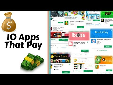 Top 10 Apps That Pay You