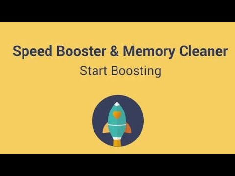 How to Use Speed BOOSTER - Memory Cleaner & CPU Task Manager - Android 2021