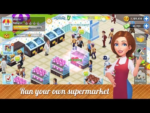My Supermarket Story : Store tycoon Simulation Android Gameplay