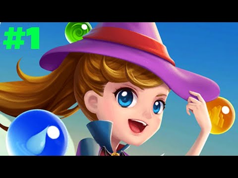 Witchland magic bubble shooter walkthrough