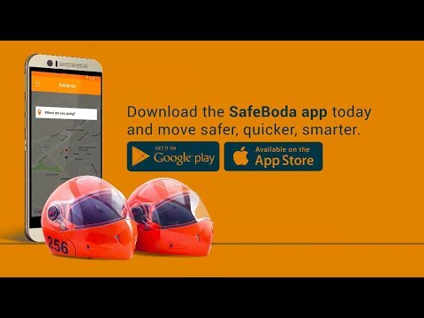 What is the SafeBoda app and how do you use it?